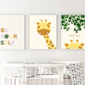 תמונות לחדרי תינוק
