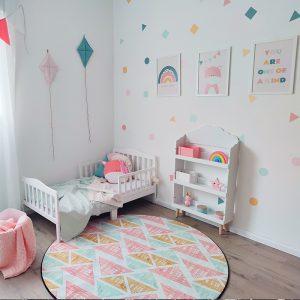 עיצוב חדר ילדים - חדר ילדים צבעוני