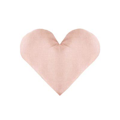 כריות לחדר ילדים - כרית לב פודרה