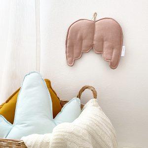 עיצוב קיר בחדר ילדים - כנפיים פודרה