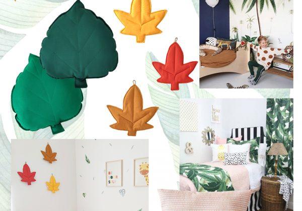 מכניסים טבע לחדר הילדים – פריטי עיצוב בסגנון טבע